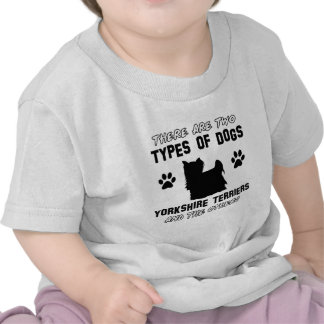 Yorkshire Terrier dog breed designs T Shirts