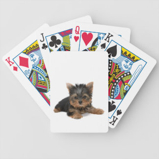 Yorkshire Terrier dog puppy cute playing cards