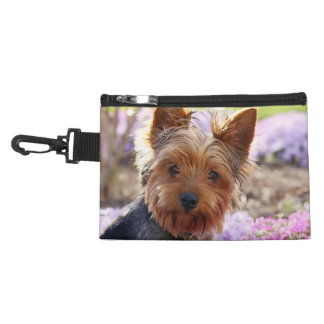 Yorkshire Terrier dog yorkie cute beautiful photo Accessories Bags