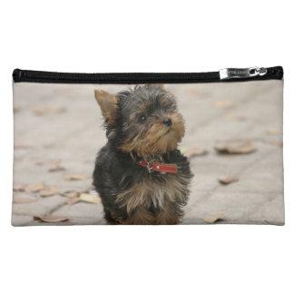 Yorkshire Terrier dog yorkie cute cosmetic bag
