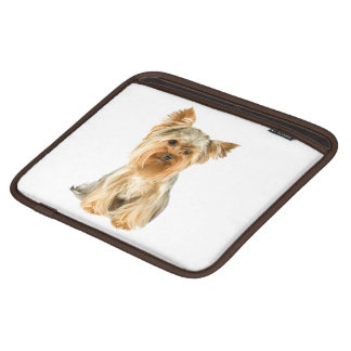 Yorkshire Terrier dog, yorkie cute ipad sleeve