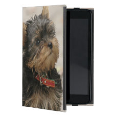Yorkshire Terrier dog, yorkie cute mini ipad case