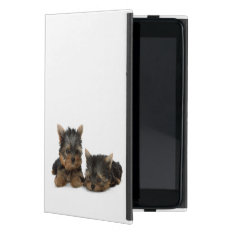 Yorkshire Terrier Dog, Yorkie Puppy Mini Ipad Case at Zazzle