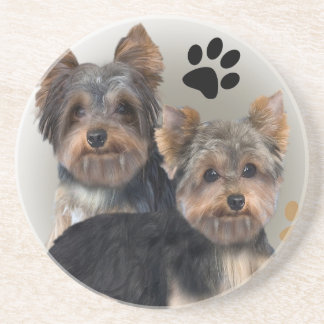 Yorkshire Terrier Double Trouble Coaster