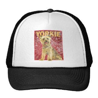 Yorkshire Terrier - dueño del mascota de Yorkie Gorro De Camionero