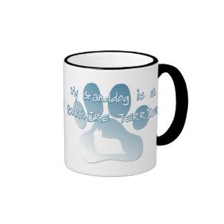 Yorkshire Terrier Granddog Ringer Coffee Mug
