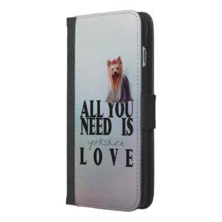 Yorkshire Terrier iPhone 6/6s Plus Wallet Case