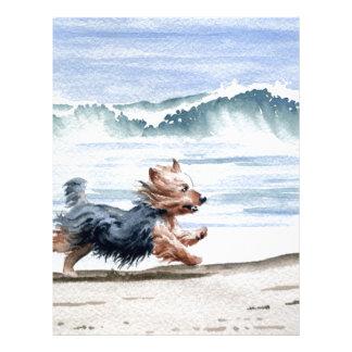 Yorkshire Terrier Letterhead