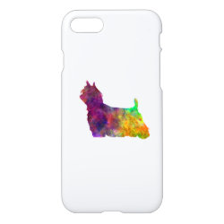 iPhone 7 Case with Yorkshire Terrier Phone Cases design