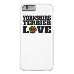 Case-Mate Barely There iPhone 6 Case with Yorkshire Terrier Phone Cases design