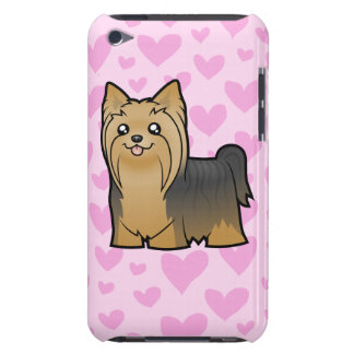 Yorkshire Terrier Love (long hair no bow) Case-Mate iPod Touch Case
