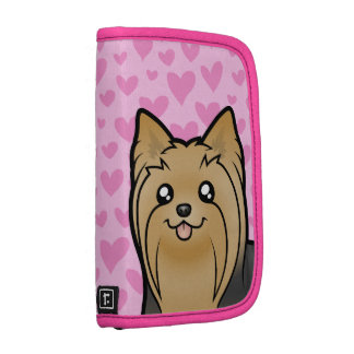 Yorkshire Terrier Love (long hair no bow) Planner