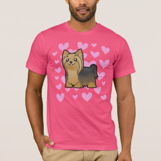 Yorkshire Terrier Love (long hair no bow) T-Shirt