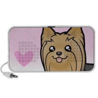 Yorkshire Terrier Love (long hair) Notebook Speakers