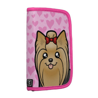 Yorkshire Terrier Love (long hair with bow) Organizers