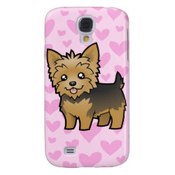 Case-Mate Barely There Samsung Galaxy S4 Case with Yorkshire Terrier Phone Cases design