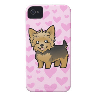 Yorkshire Terrier Love (short hair no bow) Case-Mate iPhone 4 Case