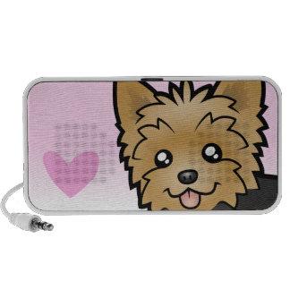 Yorkshire Terrier Love (short hair) Travelling Speaker
