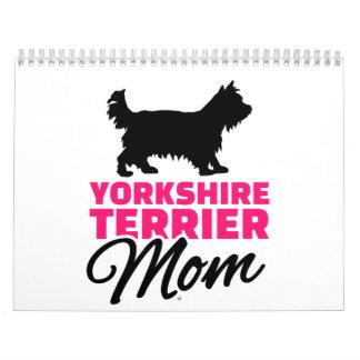 Yorkshire Terrier Mom Calendar
