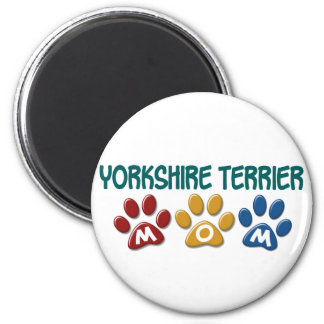 YORKSHIRE TERRIER Mom Paw Print 1 Magnet