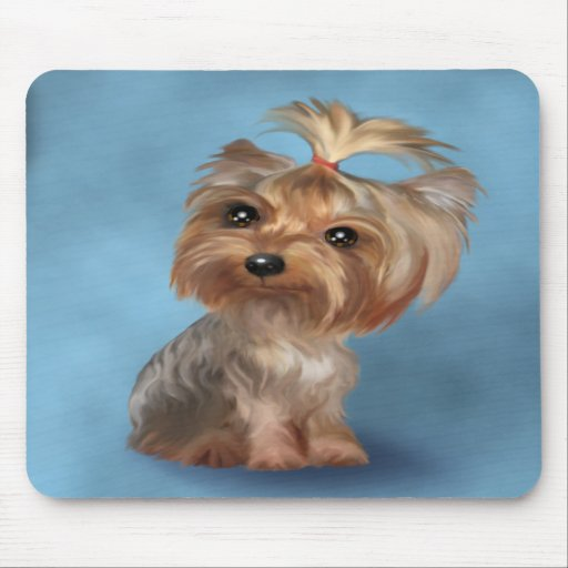 Yorkshire Terrier Mouse Pads