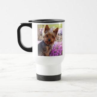 Yorkshire Terrier 15 Oz Stainless Steel Travel Mug