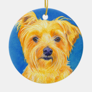 "Yorkshire Terrier Ornament - ""Sammy"""