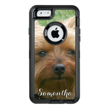 Yorkshire Terrier Otterbox Phone Case by ritmoboxer at Zazzle
