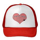 Yorkshire Terrier Paw Prints Dog Humor Trucker Hat