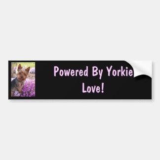 Yorkshire Terrier Pegatina Para Auto