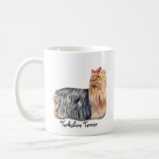 Yorkshire Terrier Personalize Coffee Mug