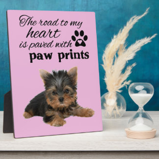 YORKSHIRE TERRIER PHOTO PLAQUES