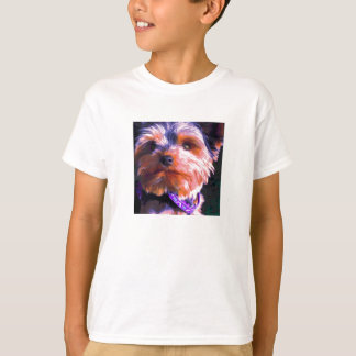 Yorkshire Terrier Pop Art T-Shirt