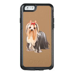 OtterBox Symmetry iPhone 6/6s Case with Yorkshire Terrier Phone Cases design