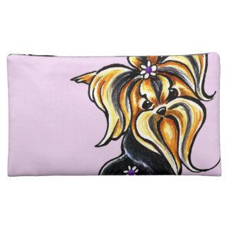 Yorkshire Terrier Pretty Performer Makeup Bag
