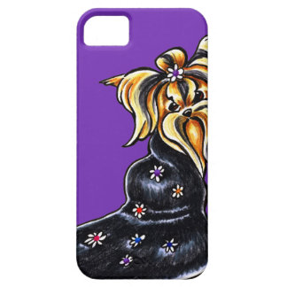 Yorkshire Terrier Pretty Performer iPhone 5 Cover