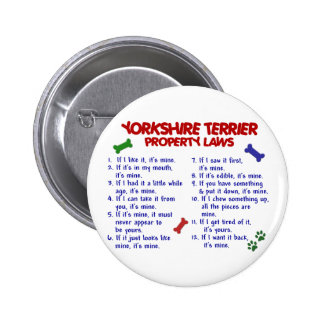 YORKSHIRE TERRIER Property Laws 2 Yorkie Pins