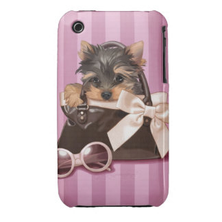 Yorkshire Terrier Puppy Case-Mate iPhone 3 Case
