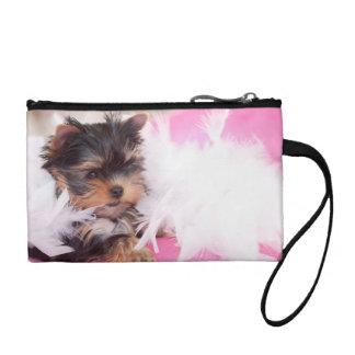Yorkshire Terrier Puppy Fashion Purse Change Purse