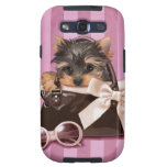 Yorkshire Terrier Puppy Galaxy SIII Cases