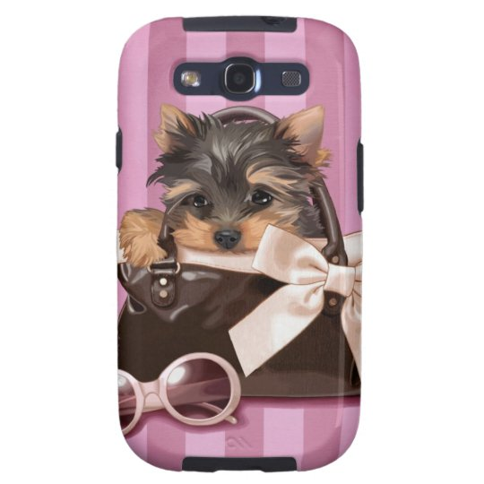 Yorkshire Terrier Puppy Galaxy SIII Cover