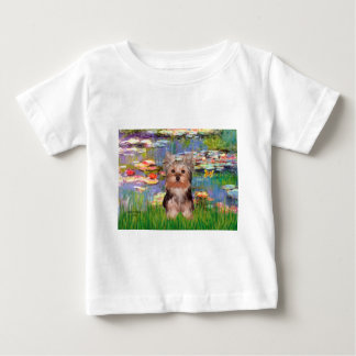 Yorkshire Terrier Puppy - Lilies 2 Baby T-Shirt