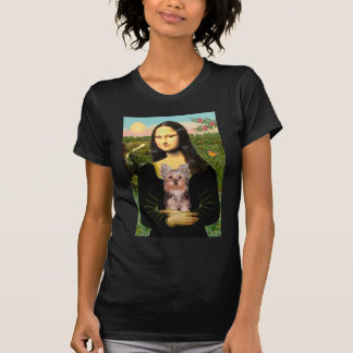Yorkshire Terrier Puppy - Mona Lisa T-shirts
