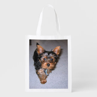 yorkshire terrier puppy.png grocery bag