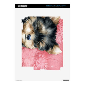 Yorkshire Terrier Puppy Vinyl Protection Skin iPad 3 Decal