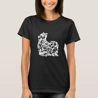 Yorkshire Terrier Silhouette T-Shirt