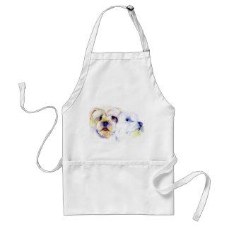Yorkshire Terrier Sketch Apron