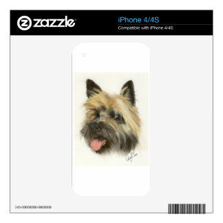 Yorkshire Terrier Decal For iPhone 4