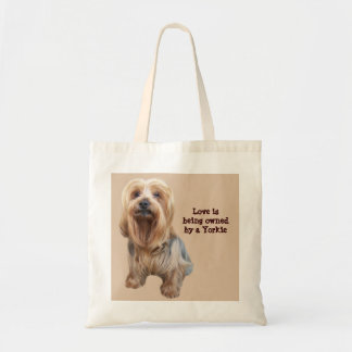 Yorkshire Terrier So Cute Tote Bag