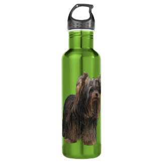 Yorkshire Terrier Stainless Steel Water Bottle